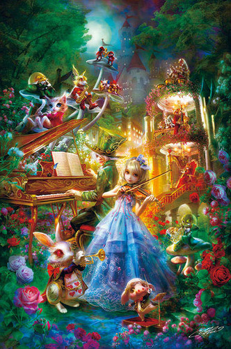 APPLEONE Jigsaw Puzzle 1000-842 Alice Symphony (1000 Pieces)