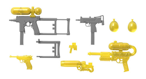 Tomytec LA054 Military Series Little Armory Water Gun C2 1/12 Scale Kit