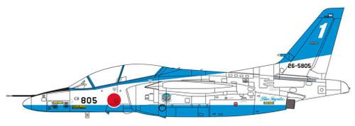 Hasegawa 07480 Kawasaki T-4 Blue Impulse 2019 1/48 Scale Kit