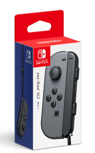 Nintendo Switch Joy-Con Controller Gray (Left Only) JTK-4902370535914