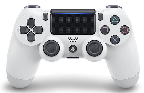 Sony PS4 PlayStation 4 Controller (DUALSHOCK 4) Glacial White JTK-4948872414340