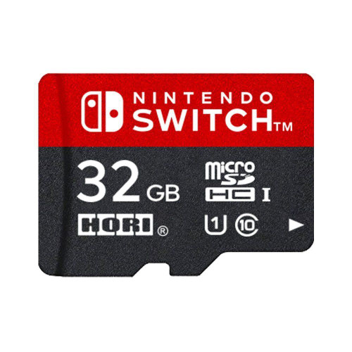Hori 32GB MicroSD Card for Nintendo Switch JTK-4961818027657