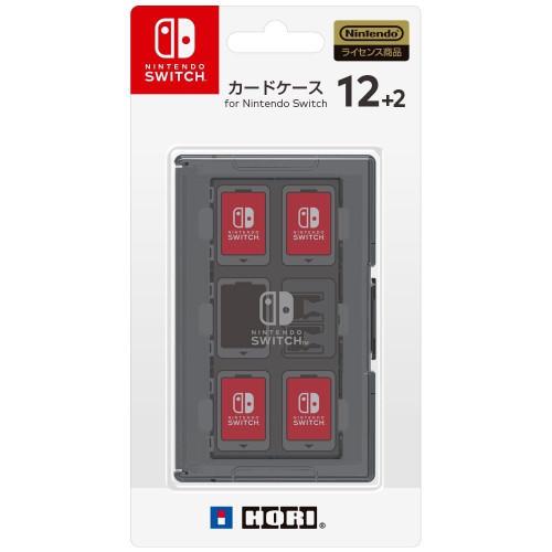 Hori Game Card Case 12+2 Black for Nintendo Switch JTK-4961818027381