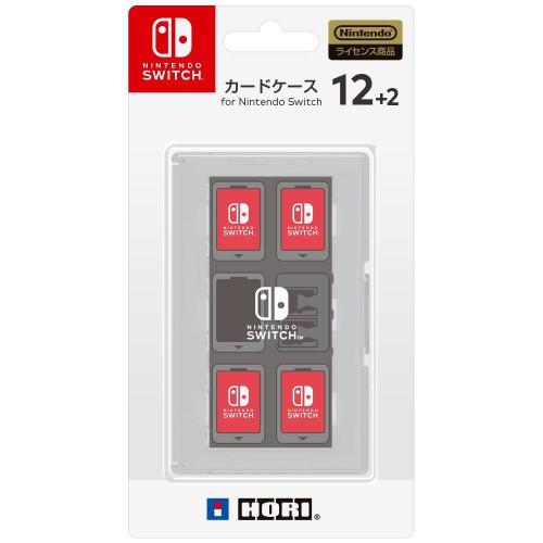 Hori Game Card Case 12+2 White for Nintendo Switch JTK-4961818027411