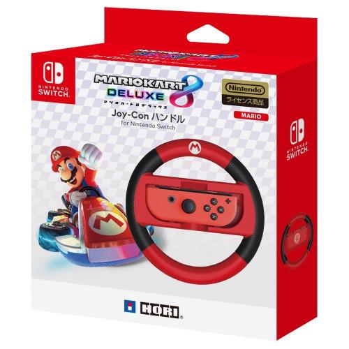 Hori Joy-Con Wheel Mario Kart 8 DX Mario for Nintendo Switch JTK-4961818027992