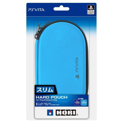 Hori New Hard Pouch for Playstation Vita Aqua Blue JTK 4961818026148