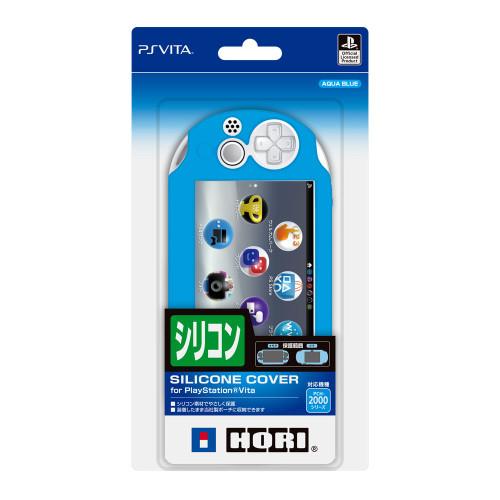 Hori New Silicon Cover for Playstation Vita PCH-2000 Aqua Blue JTK 4961818026230