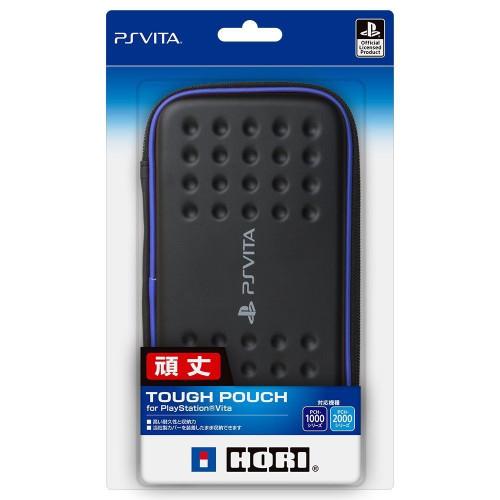 Hori New Tough Pouch for Playstation Vita (PCH-1000/PCH-2000) Black x Blue JTK