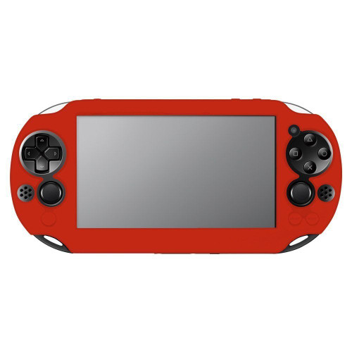 Hori PSV New Silicon Cover for Playstation Vita Red JTK 4961818027060