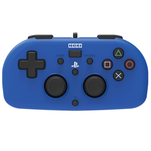 Hori PS4 PlayStation 4 Wired Controller Light (Blue) JTK-4961818028388