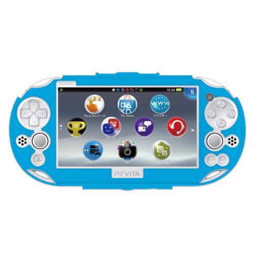 Hori New Protect Frame for Playstation Vita (PCH-2000) Aqua Blue JTK