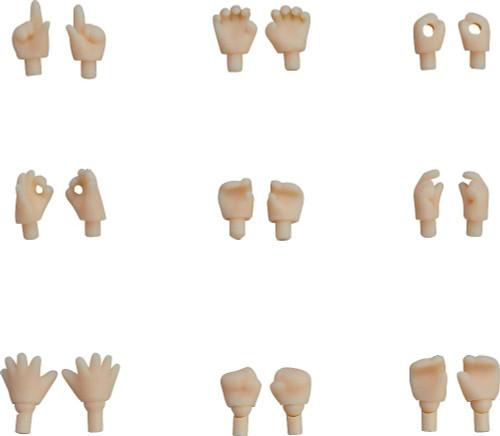Good Smile Nendoroid Doll: Hand Parts Set (Almond Milk)