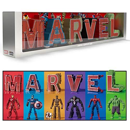 Bandai Candy Super Transformation! Mojibakeru MARVEL 1 Box 6 Pcs Complete Set