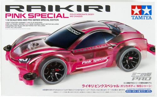 Tamiya 95486 Raikiri Pink Special (Polycarbonate Body) (MS Chassis) 1/32