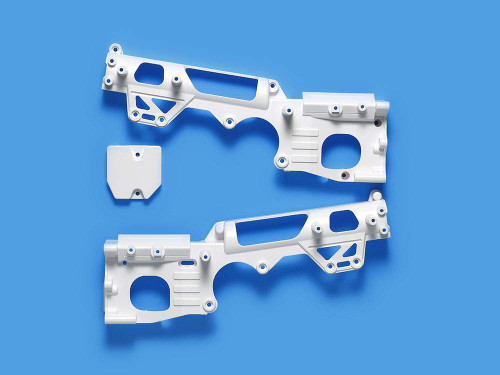 Tamiya 47405 D Parts Chassis Set White for WR02-CB