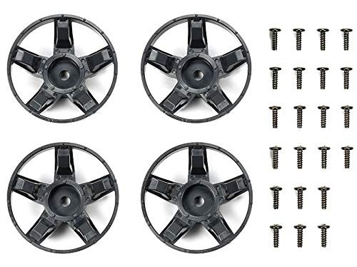 Tamiya 47410 S Parts Deep Gray Spokes Set for WR02-CB