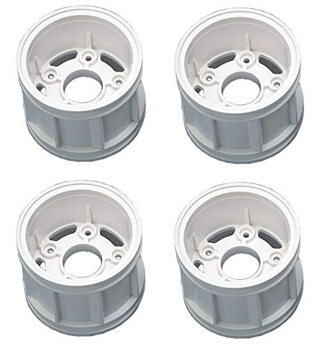 Tamiya 51618 (SP1618) T Parts Wheel Rims (White) for WR-02CB