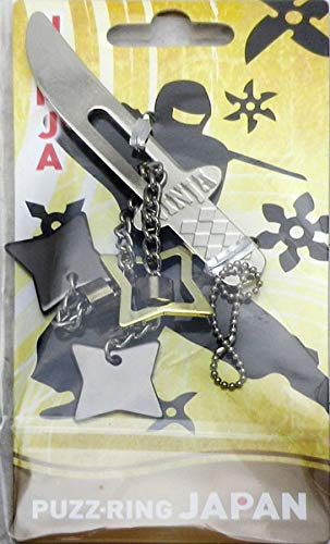 Hanayama Puzzle Puzz Ring Japan NINJA