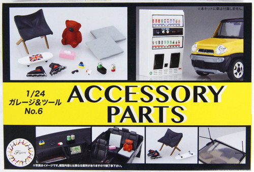 Fujimi GT6 116488 Accessory Parts 1/24 scale kit