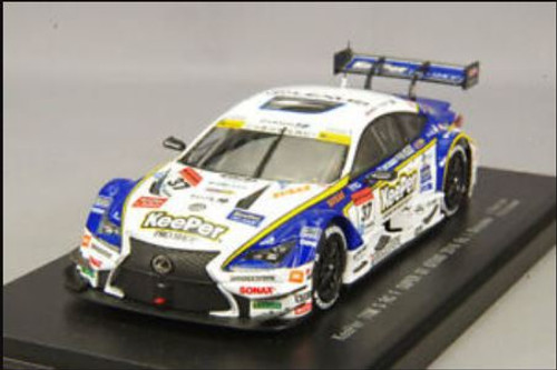 Ebbro 45385 Super GT GT500 2016 Rd.1 Okayama KeePer Tom`s RC F No.37 (White) 1/43 Scale