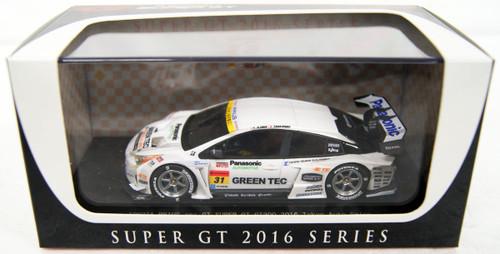 Ebbro 45412 TOYOTA PRIUS apr GT GT300 Tokyo Auto Salon No.31  (White) 1/43 Scale
