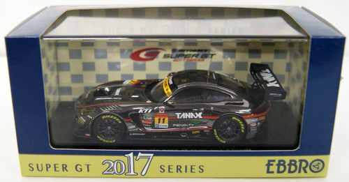 Ebbro 45541 SUPER GT GT300 2017 GAINER TANAX AMG GT3 No.11 (Grey) 1/43 Scale