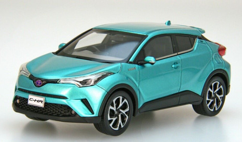 Ebbro 45602 Toyota C-hr Radiant Green 1/43 Scale