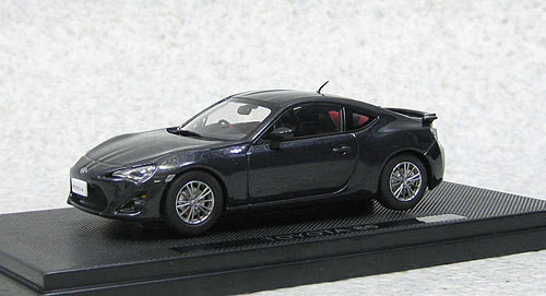 Ebbro 44843 Toyota 86 (Dark Gray) 1/43 Scale