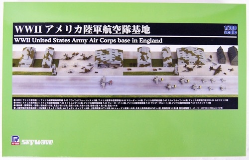 Pit-Road SPS01 WWII United States Army Aviation Air Base 1/700 Scale