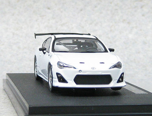 Ebbro 44893 Toyota 86 Nurburgring 24 Hour Race 2012 Test Car 1/43 Scale