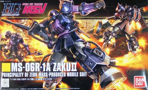 Bandai HGUC 151 Gundam MS-06R-1A ZAKU II 1/144 Scale Kit