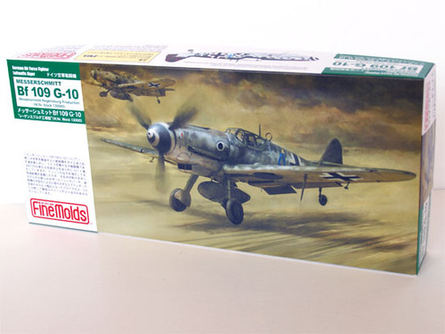 Fine Molds FL11 German Messerschmitt Bf 109 G-10 1/72 Scale Kit