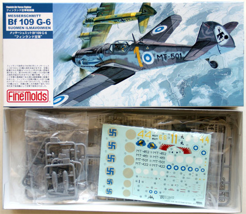 Fine Molds FL14 Finnish Messerschmitt Bf 109 G-6 1/72 Scale Kit