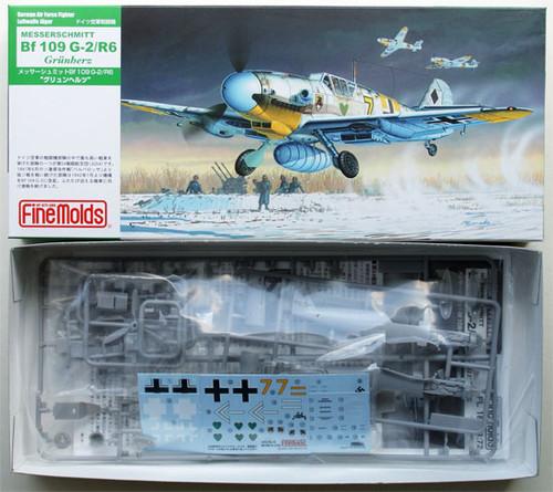 Fine Molds FL18 German Messerschmitt Bf 109 G-2/R2 1/72 Scale Kit