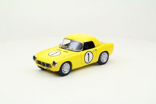 Ebbro 44592 Honda S600 1965 Funabashi CCC #1 (Yellow) 1/43 Scale