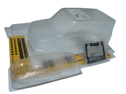 1/10 Mini NISSAN XANADU -CUBE CLEAR BODY