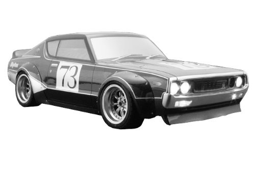SKYLINE GTR KENMERI Racing Over Fender Kit 200mm Body