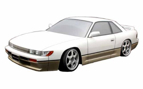 1/10 Nissan S13 Silvia Clear Body