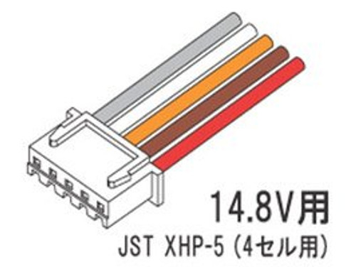 Balance Connector XHP-5 (for 4 Cells)