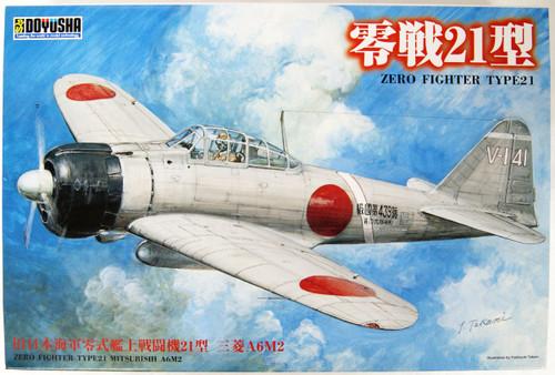 Doyusha 402474  IJN Zero Fighter Type 21 Plastic Model 1/32 Scale Kit