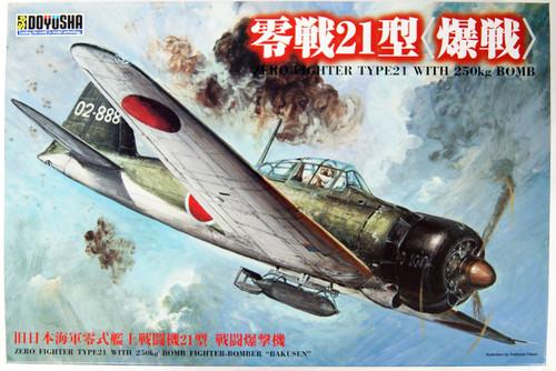 Doyusha 402481 IJN Zero Fighter Type 21 Bomber 1/32 Scale Kit