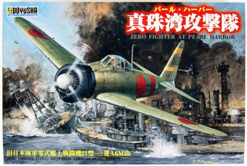 Doyusha 402498 IJN Zero Fighter Type 21 Pearl Harbor Attack Corp 1/32 Scale Kit
