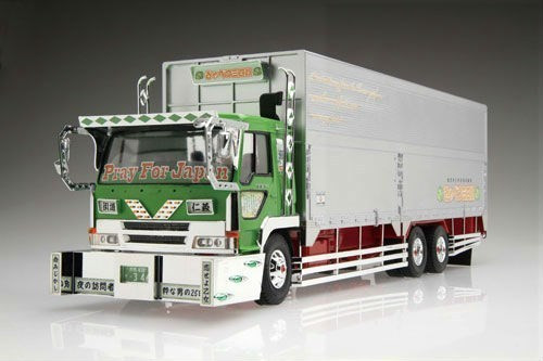 Aoshima 02421 Japanese Cabbage Truck 1/32 Scale Kit