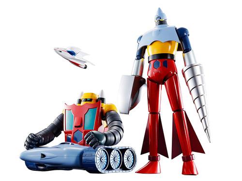 Bandai Soul of Chogokin GX-91 Getter 2 & 3 D.C. Figure
