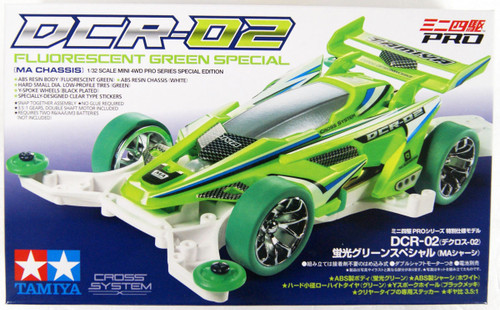 Tamiya 95510 Mini 4WD DCR-02 Fluorescent Green Special (MA Chassis)