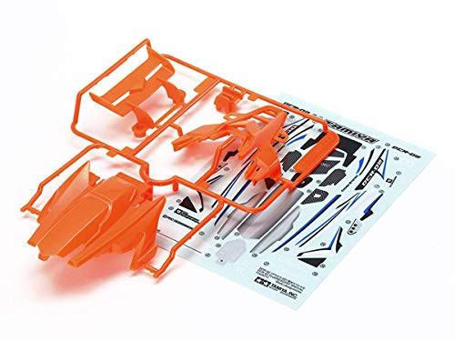 Tamiya 95511 Mini 4WD DCR-02 Body Parts Set (Fluorescent Orange)