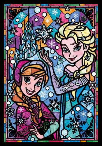 Tenyo Japan Jigsaw Puzzle DSG-266-753 Disney Frozen Anna & Elsa (266 Pieces)