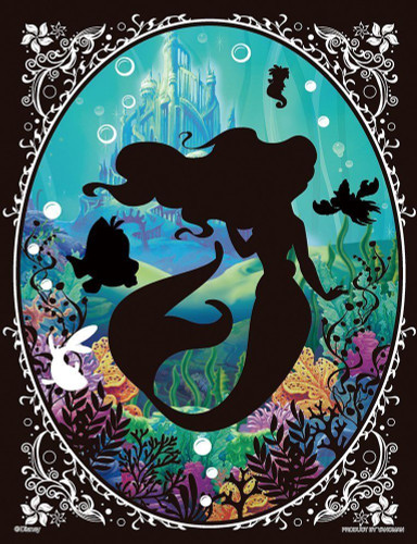Yanoman Jigsaw Puzzle 42-36 Disney Little Mermaid Ariel (300 Small Pieces)