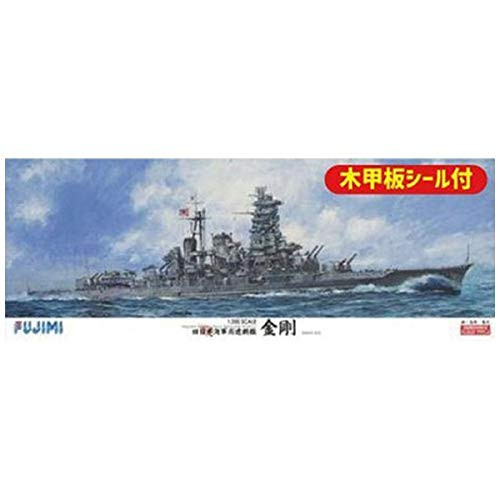 Fujimi 600437 IJN Battleship Kongo w/ Wooden Deck Parts 1/350 Scale Kit