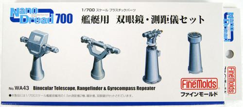 Fine Molds WA43 Nano Dread Binoculars & Rangefinder for Warship Set 1/700 Scale Kit